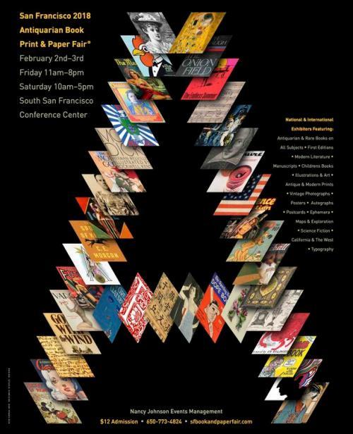SF 2018 Antiquarian Book Print and Paper Fair
